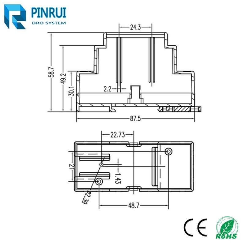 5V-24V plc linear scale connector