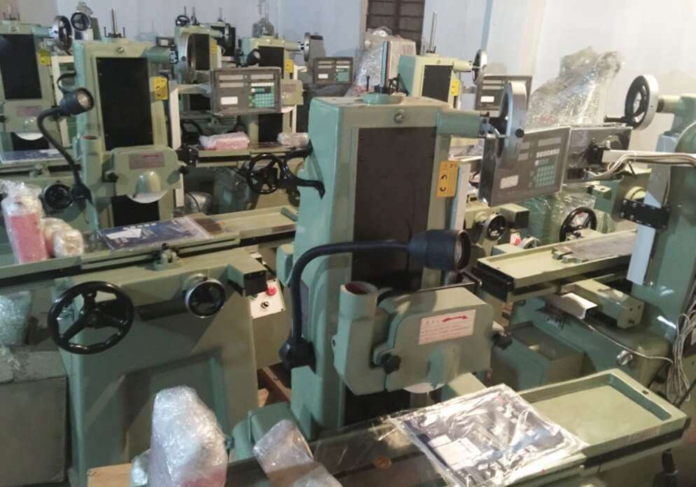 dro system on grinding machines