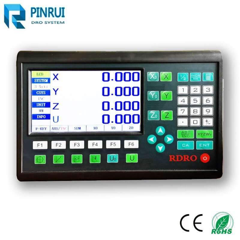 4 axis LCD DRO counter