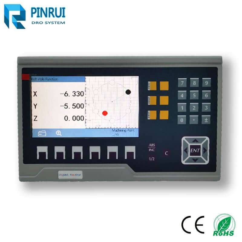 7 inch led digital readout dro with metal case